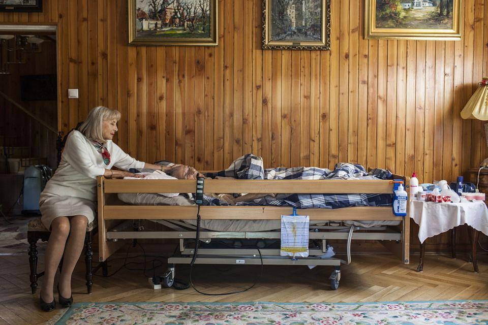 2Ostatnia sesja zdjęciowa Kiszczaków