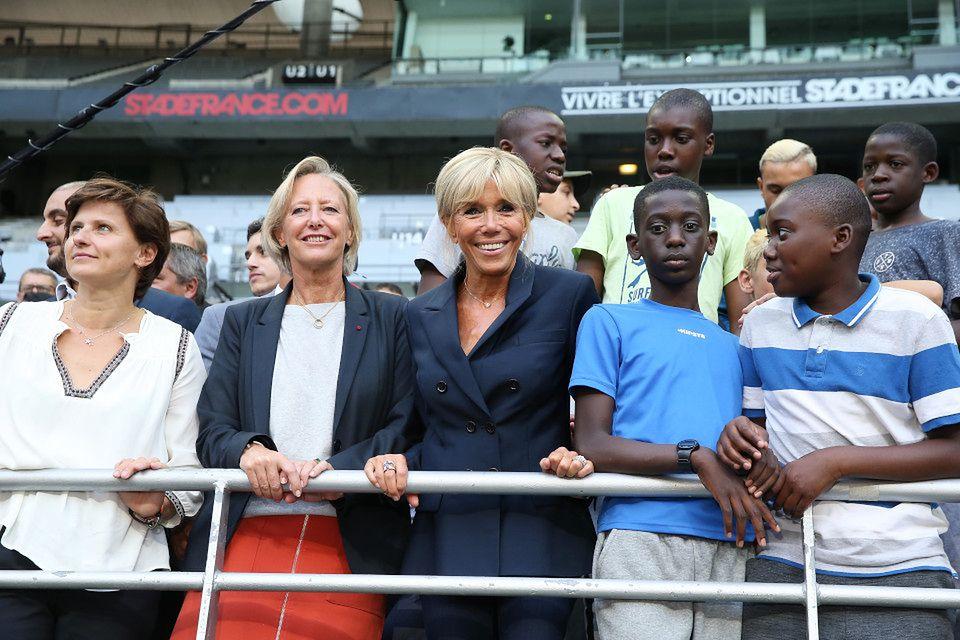 2Brigitte Macron na Stade de France