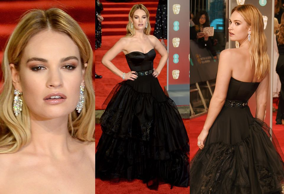 2Lily James