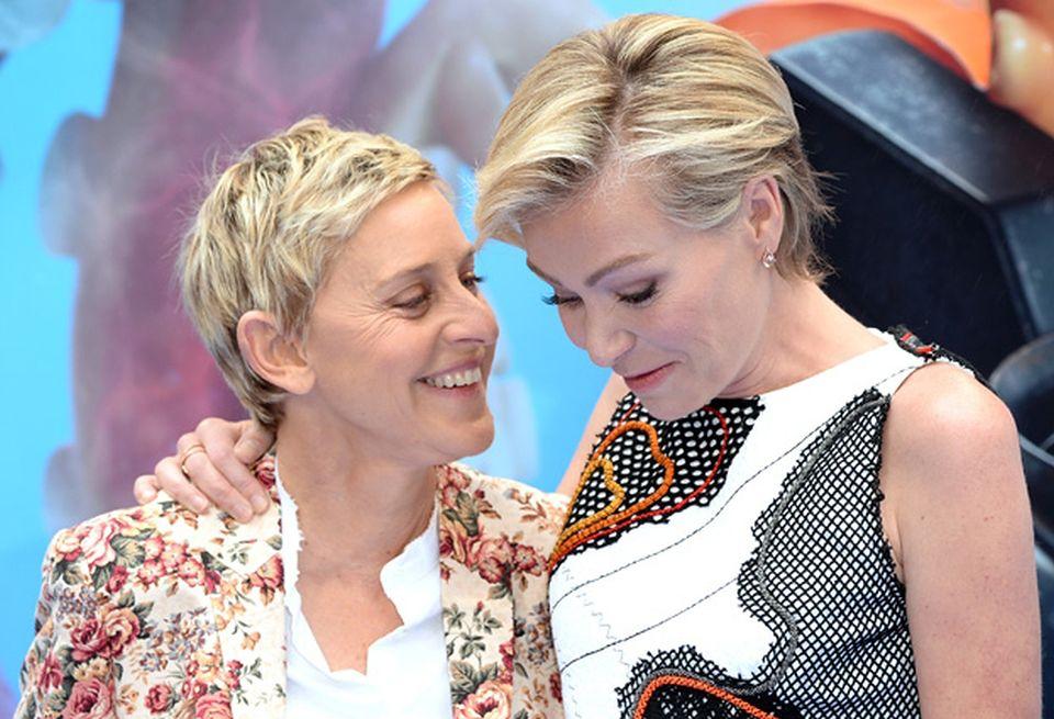 2Ellen DeGeneres i Portia De Rossi