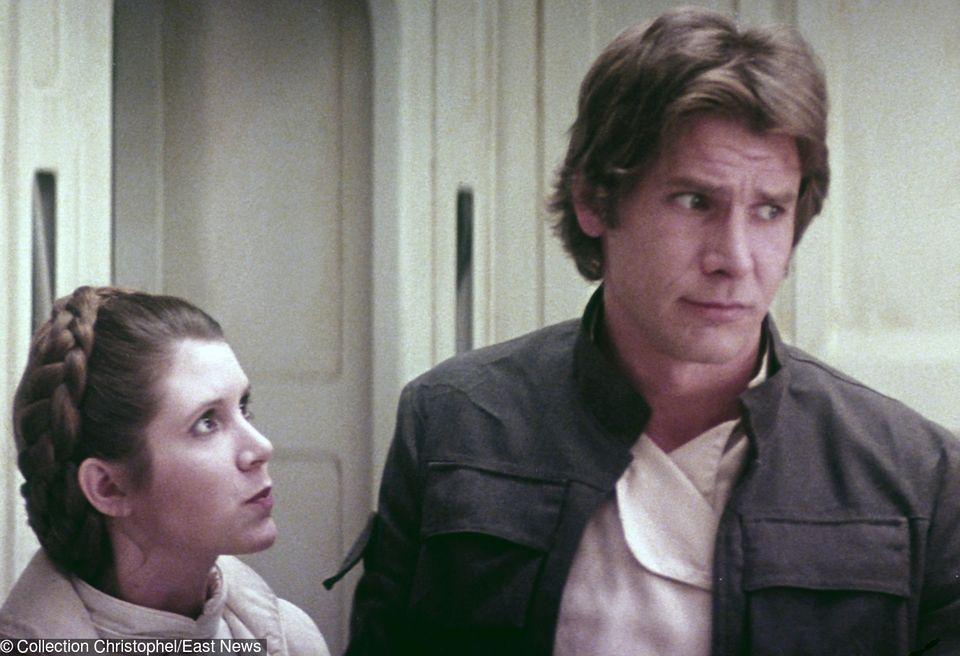 2Leia i Han Solo to jedna z kultowych par świata filmu