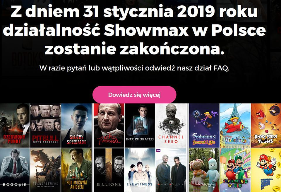2Dostęp do Showmaxa