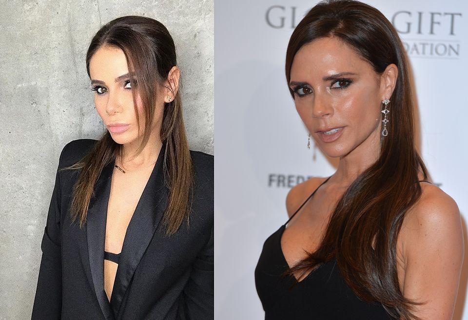 2Internauci dostrzegli jej podobieństwo do Victorii Beckham