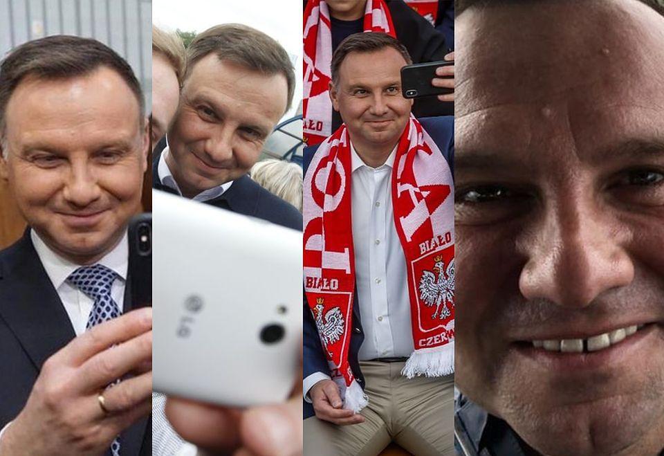 2Najlepsze selfie Andrzeja Dudy