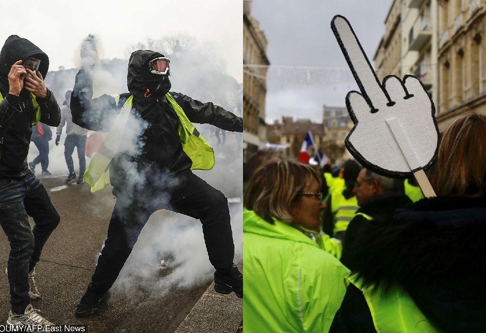 2Protesty we Francji
