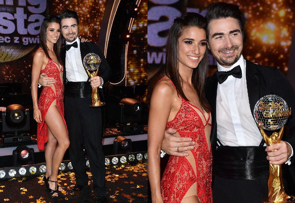 2Janowi Klimentowi gratulowała żona, Lenka, która też tańczyła w tej edycji programu