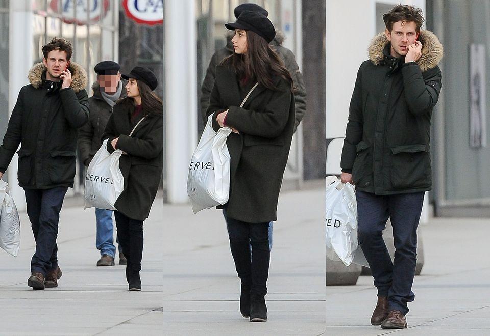 2Wieniawa i Królikowski relaksują się na mieście: zakupy, fryzjer, pocałunki