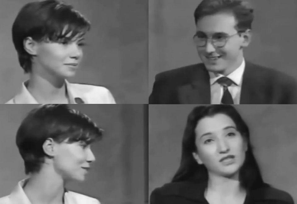 2Wywiad przed wyjazdem Justyny Steczkowskiej na Eurowizję, 1995