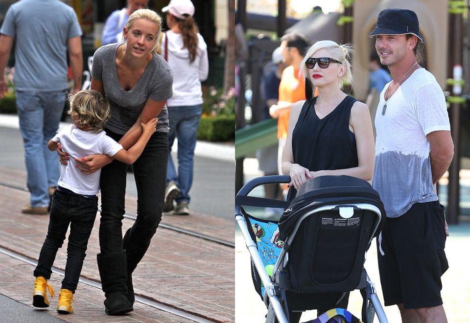 2Mąż Gwen Stefani, Gavin Rossdale, przez trzy lata zdradzał żonę z nianią Mindy Mann.