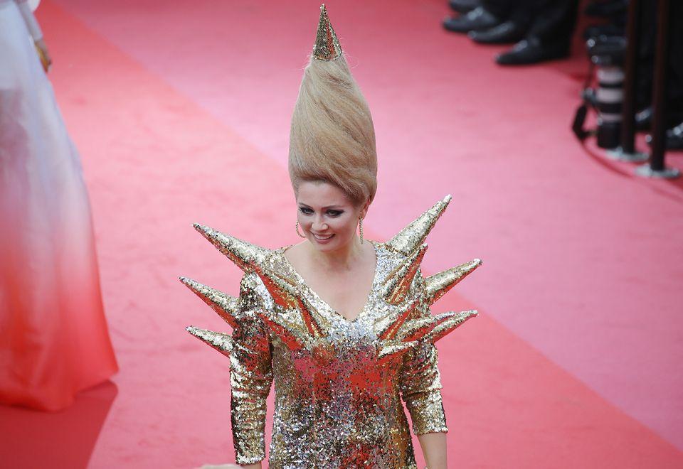2Kok Eleny Leniny na festiwalu w Cannes w 2018 roku