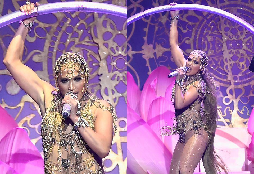 2Tak wyglądał występ Jennifer Lopez na gali Billboard Latin Music Awards