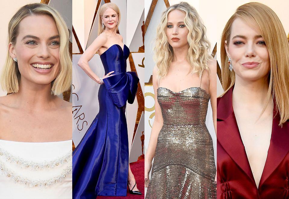 2Gwiazdy na czerwonym dywanie 90. gali rozdania Oscarów
