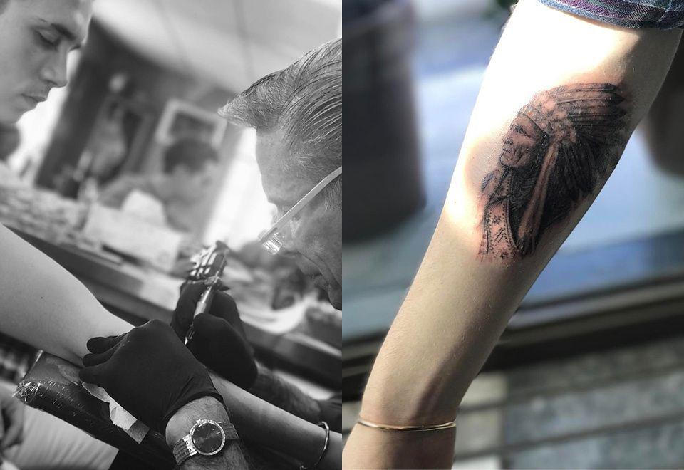 Brooklyn Beckham Ma Pierwszy Tatuaż Starego Indianina