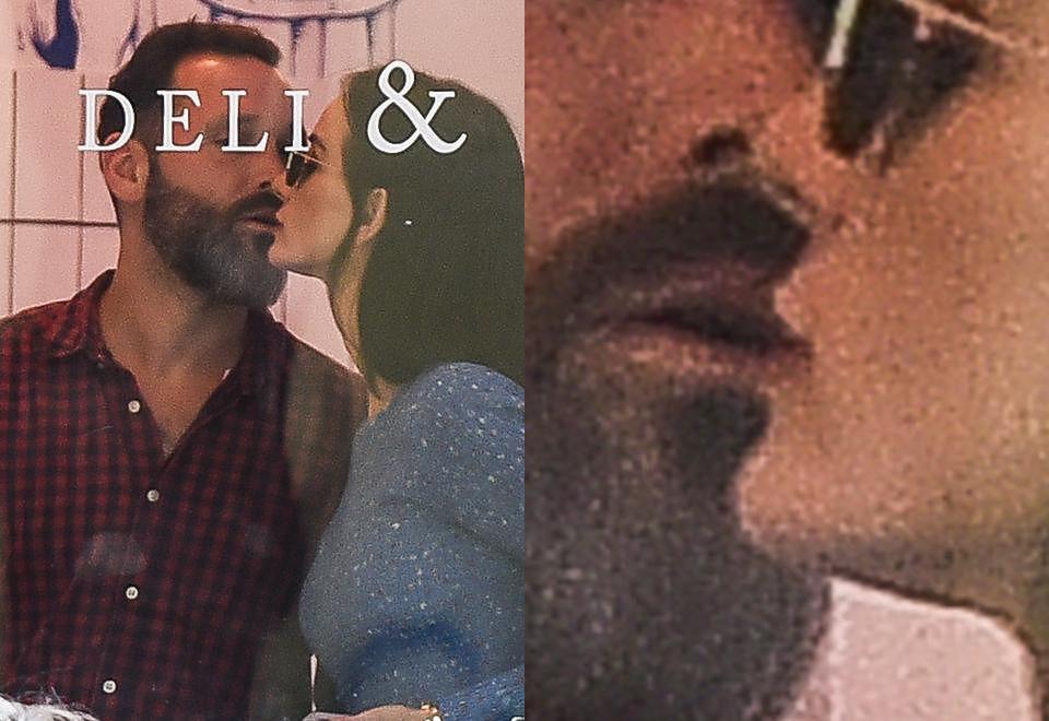 2Violetta Kołakowska całuje się z mężczyzną