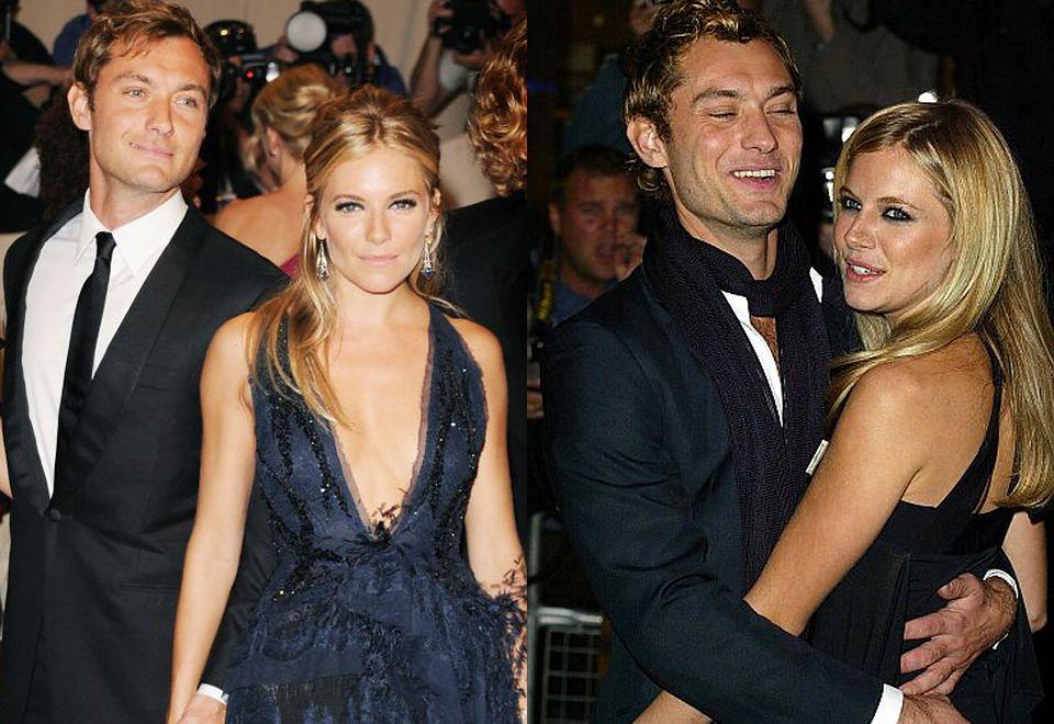 2Jude Law po raz pierwszy zaręczył się z Sienną Miller w 2004 roku. Pół roku później przyznał się do romansu z nianią Daisy Wright. Choć para ratowała związek, wkrótce się rozpadł. Wrócili do siebie w 2009 roku, ale na tylko nieco ponad rok.