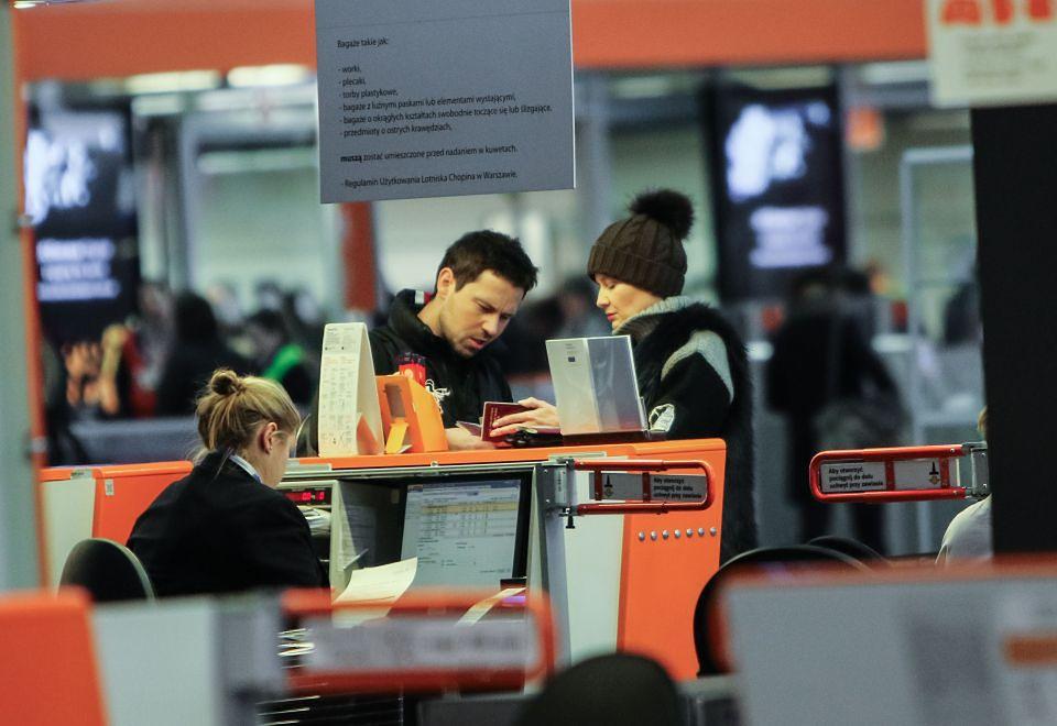 2Małgorzata Kożuchowska i jej mąż zostali przeszukani na lotnisku