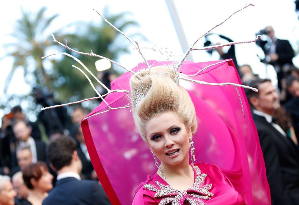 2Kok Eleny Leniny na festiwalu w Cannes w 2016 roku