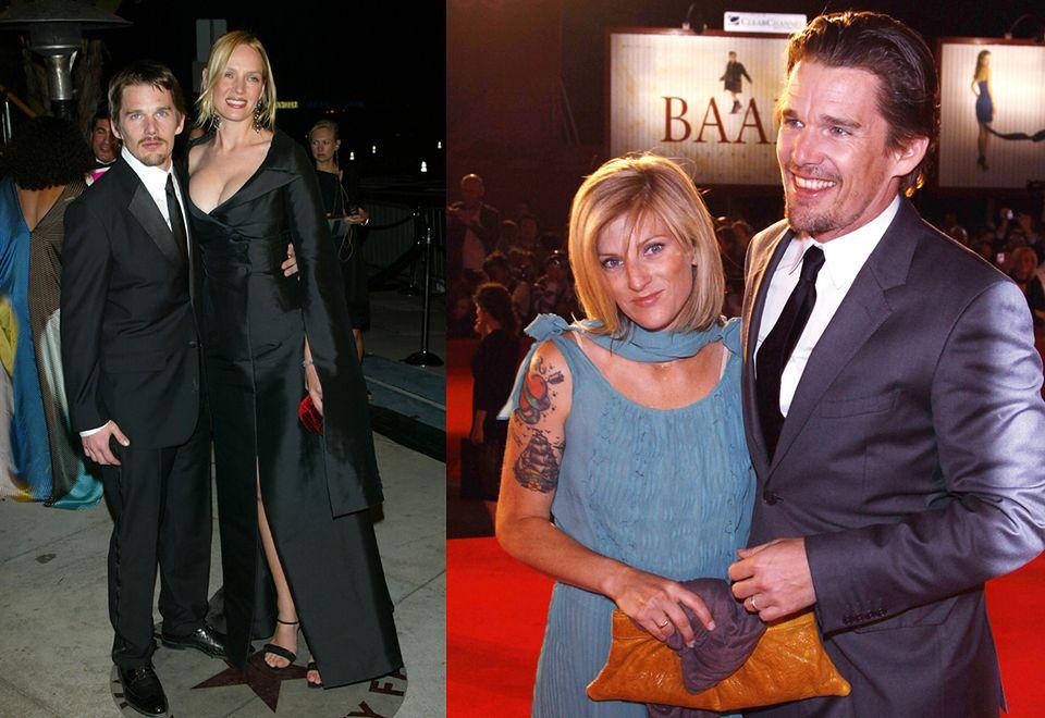 2Ethan Hawke w 2003 roku zniszczył swoje małżeństwo z Umą Thurman, gdy wdał się w romans z opiekunką dwojga swoich dzieci, Ryan Shawhughes. Pięć lat po rozwodzie z żoną, ożenił się z Ryan.