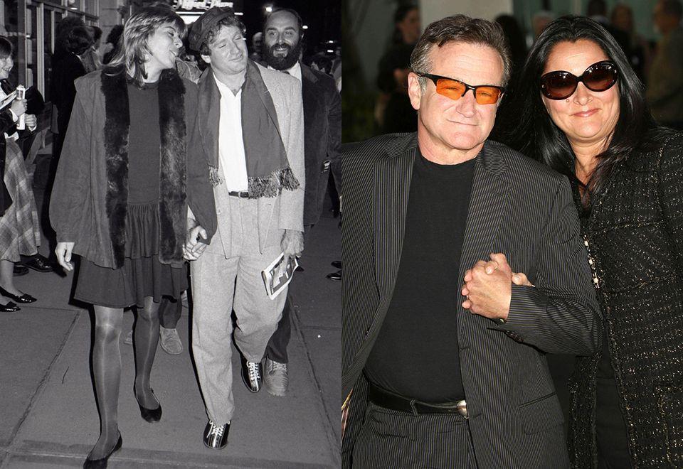 2Tragicznie zmarły w 2014 roku Robin Williams też miał niechlubny epizod w swoim małżeństwie. W 1988 roku rozwiódł się z pierwszą żoną, Valerie Velardi, a w kolejnym roku ożenił się z Marshą Garces, opiekunką swojego syna.