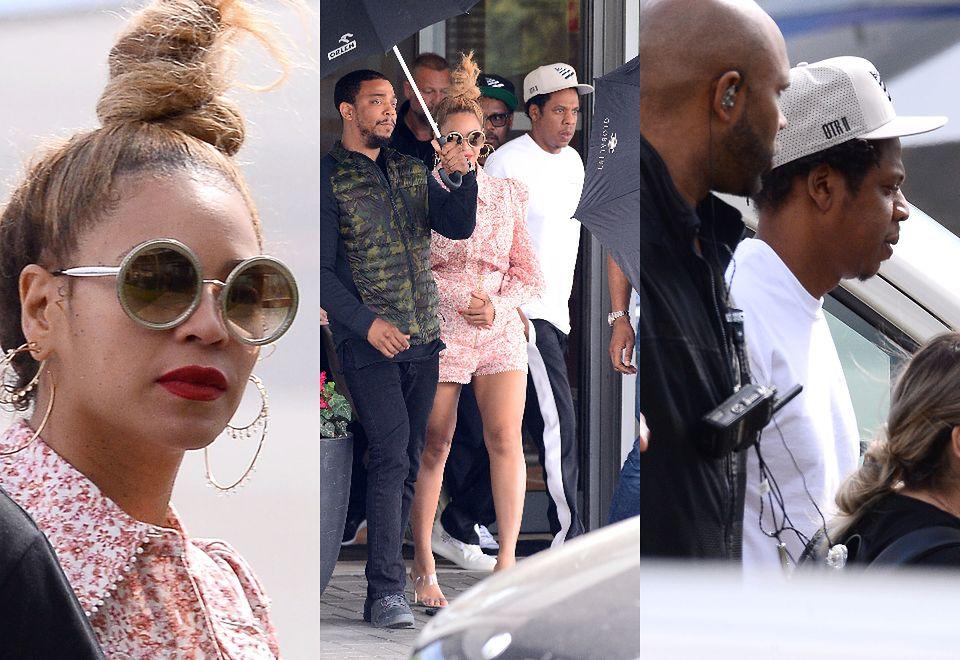 2Zmarznięta Beyonce i zrelaksowany Jay-Z  wylądowali w Polsce