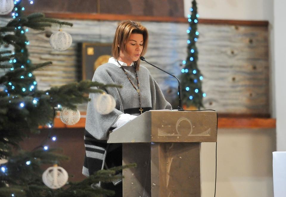 2Edyta śpiewa w kościele, Boże Narodzenie 2016