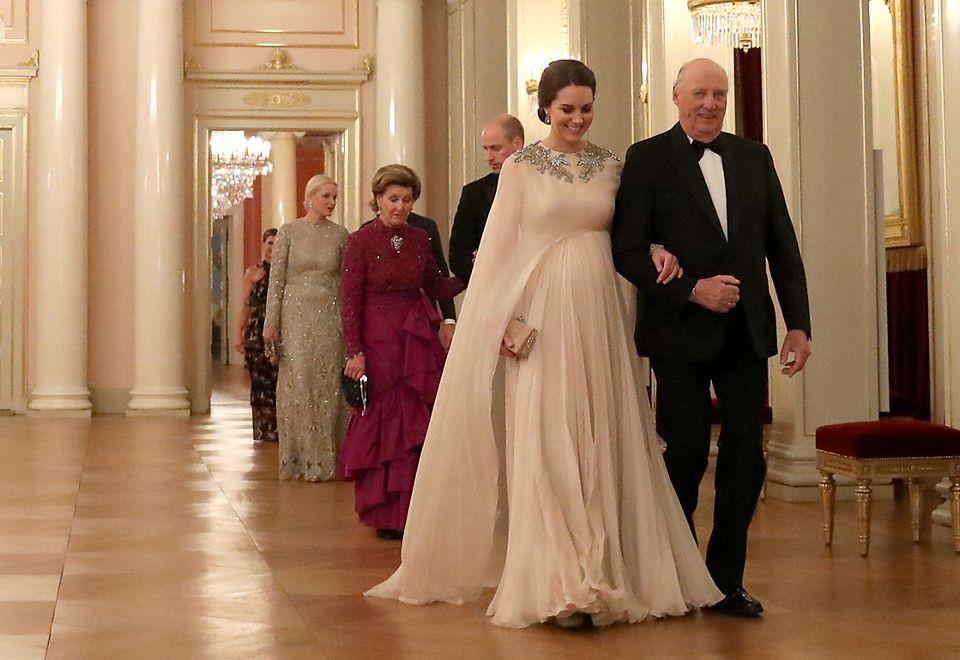2Brytyjska para książęca w środę przybyła do Oslo