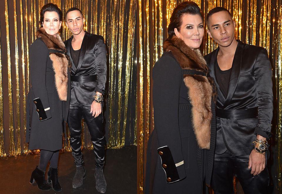 2Kris Jenner i Olivier Rousteing