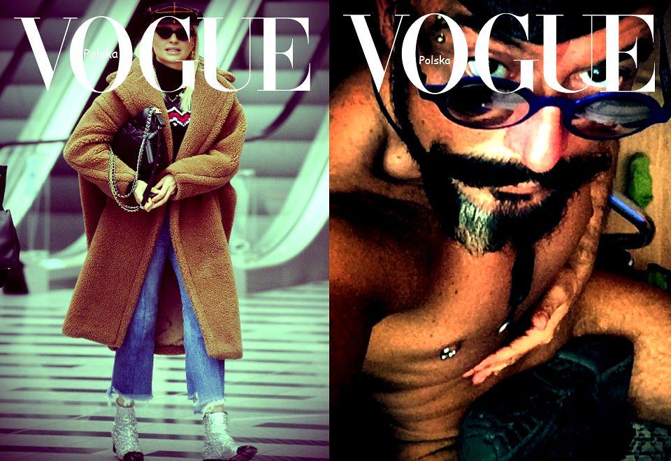 """2Joanna """"fashion icon"""" Horodyńska / Tomek Jacyków"""