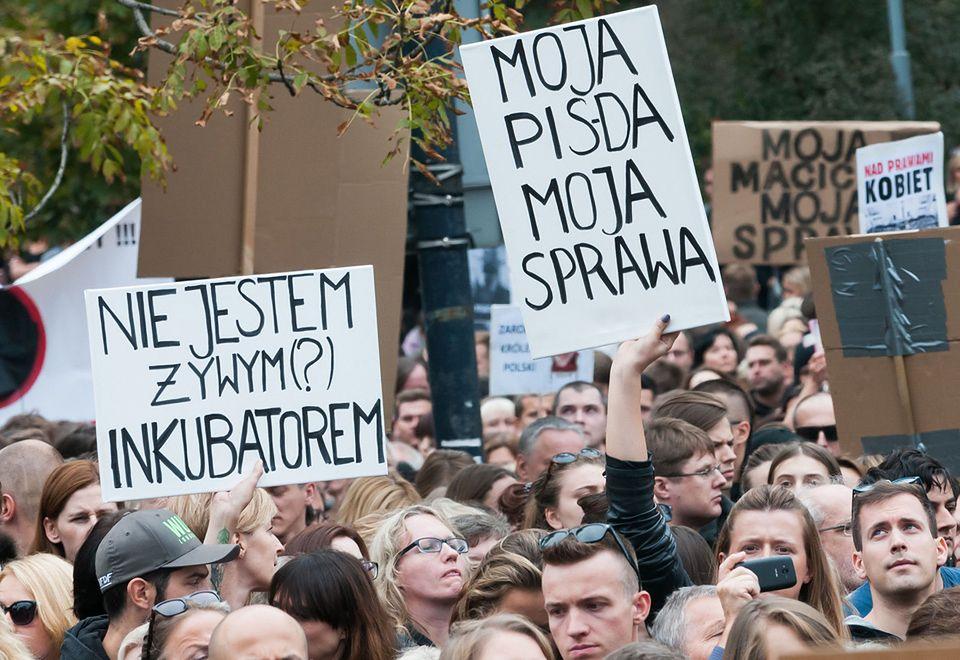 2Czarny Protest pod Sejmem