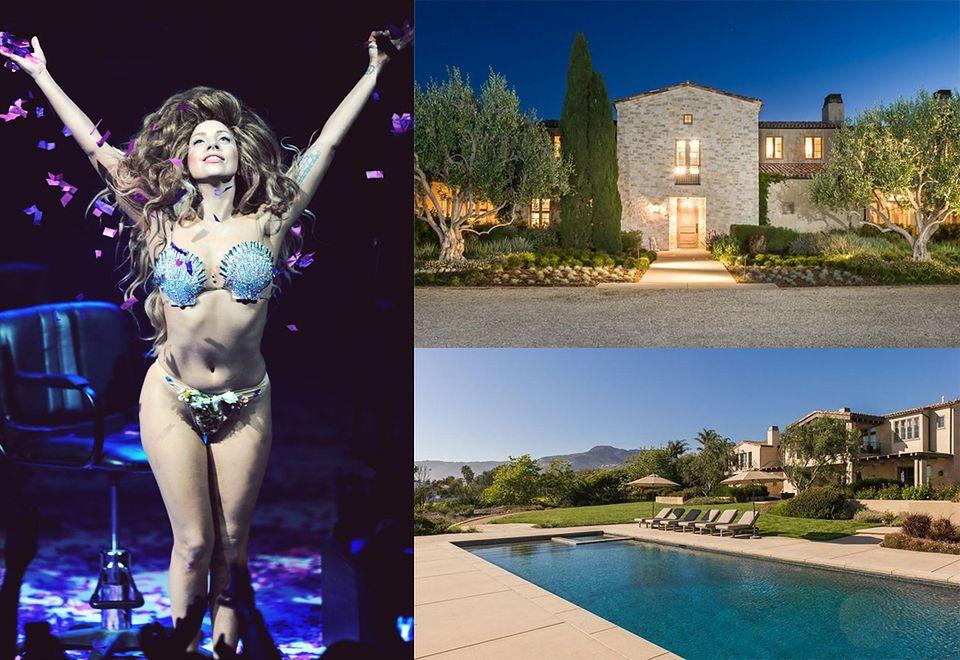 2Lady Gaga - dom wart ponad 85,9 miliona złotych