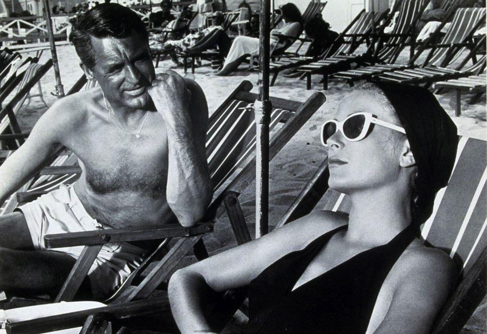 """2Z Cary Grantem na planie """"Złodzieja w hotelu"""""""