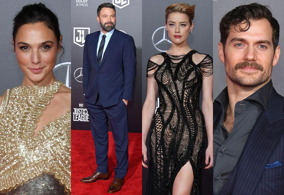 2Gal Gadot, Ben Affleck, Amber Heard i Henry Cavill
