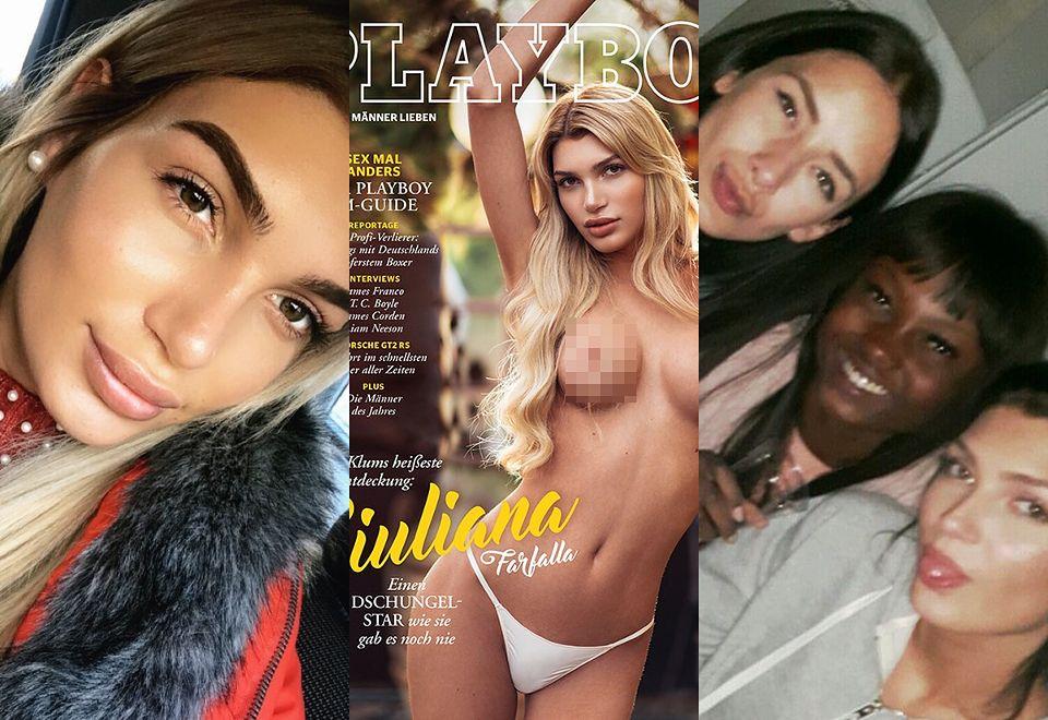 """2Giuliana Farfalla, pierwsza transpłciowa modelka na okładce """"Playboya"""""""
