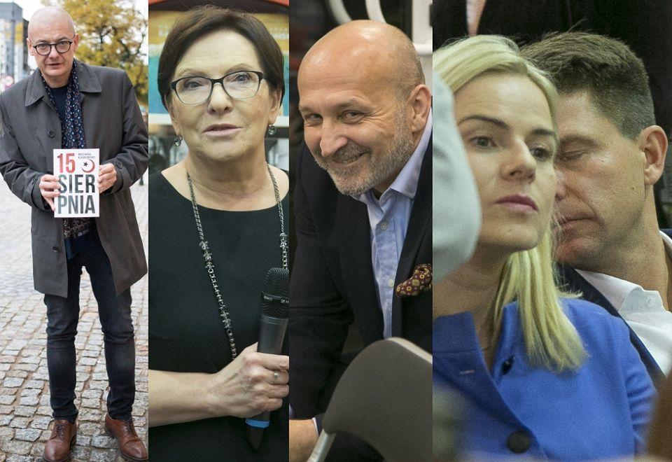 2Michał Kamiński, Ewa Kopacz, Kazimierz Marcinkiewicz, Ryszard Petru i Joanna Schmidt