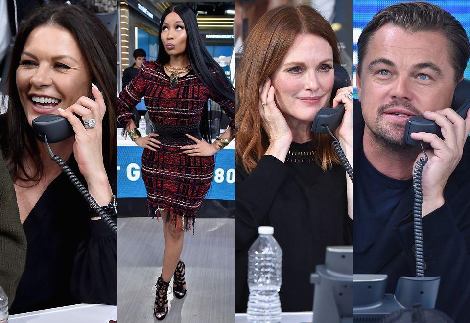 2Catherine Zeta-Jones, Nicki Minaj, Julianne Moore, Leonardo DiCaprio