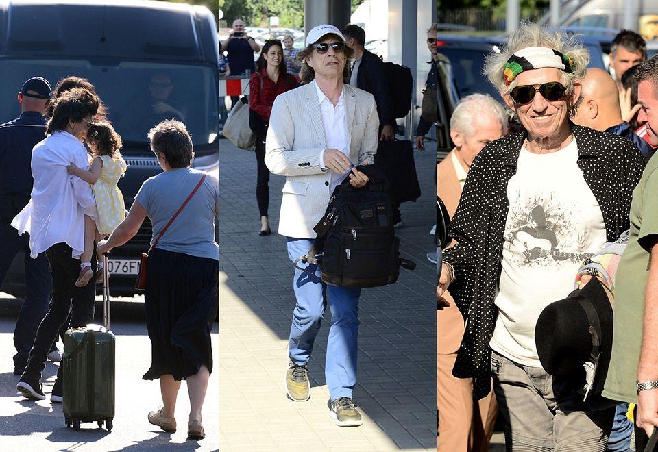 2The Rolling Stones już w Polsce. Przylecieli na koncert z rodzinami