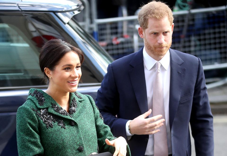 2Para książęca w poniedziałek wybrała się do ambasady Kanady