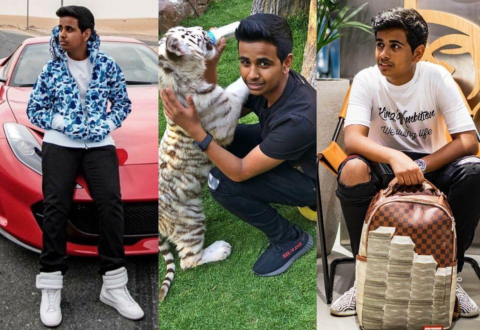 2Oto Rashed Saif Belhasa - najbogatszy 16-latek w Dubaju