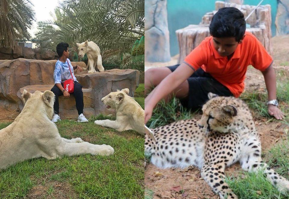 2Luksusowe życie nastolatka z Dubaju