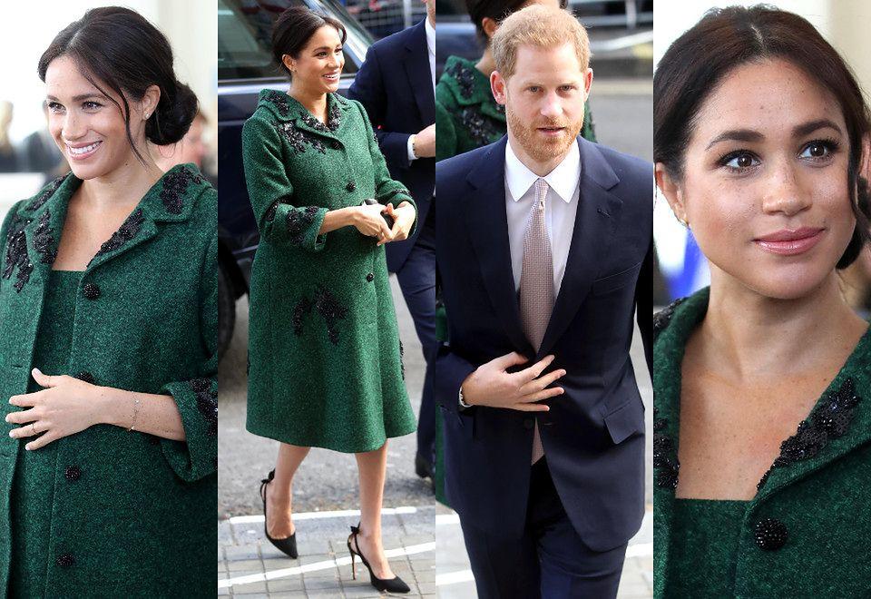 2Księżna Meghan i książę Harry z wizytą w kanadyjskiej ambasadzie