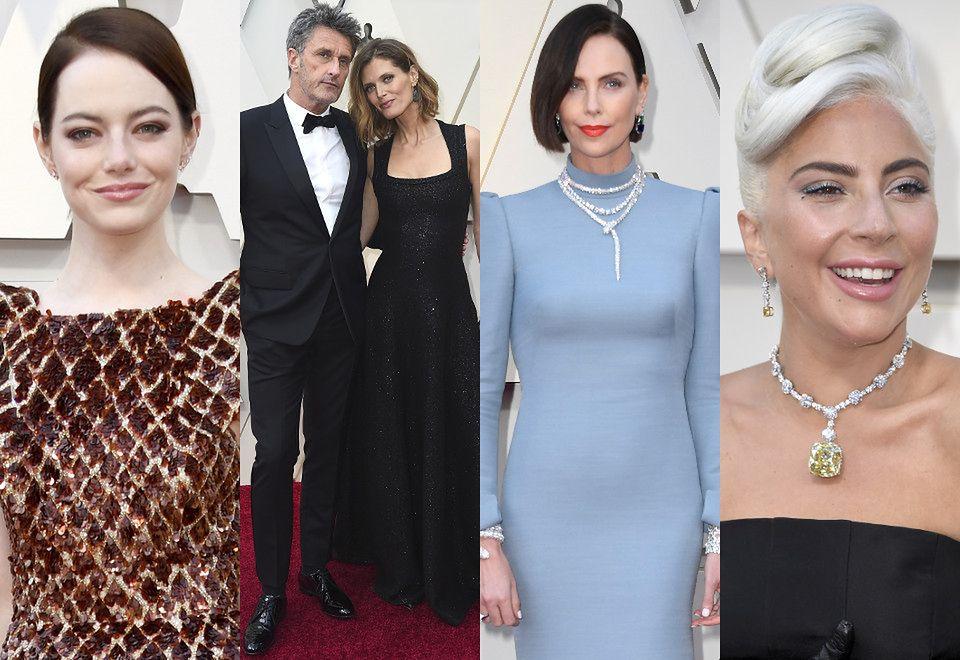 2Emma Stone, Paweł Pawlikowski, Małgosia Bela, Charlize Theron i Lady Gaga