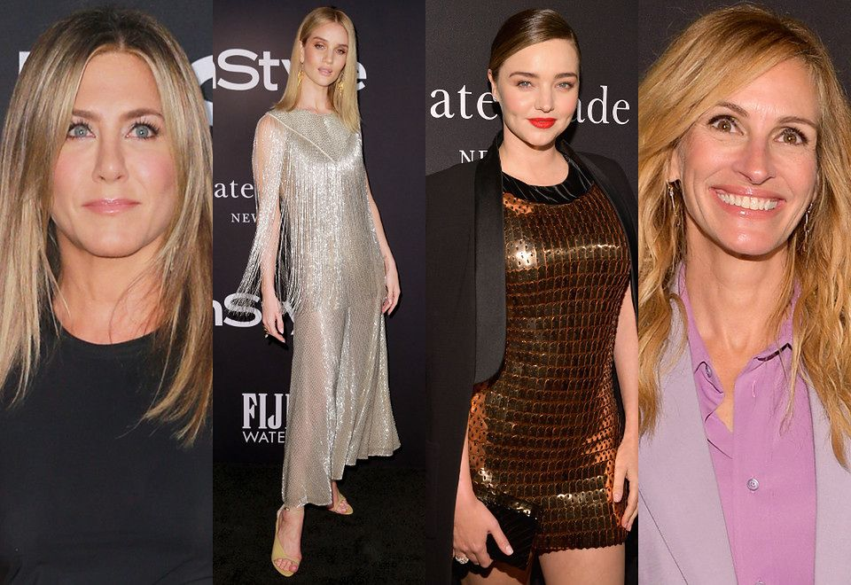 2Jennifer Aniston, Rosie Huntington-Whiteley, Miranda Kerr i Julia Roberts