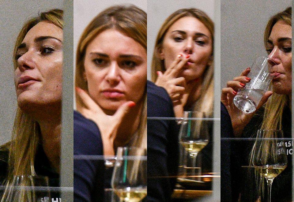 2Odprężona Jessica Ziółek łapie buszka i popija szampana