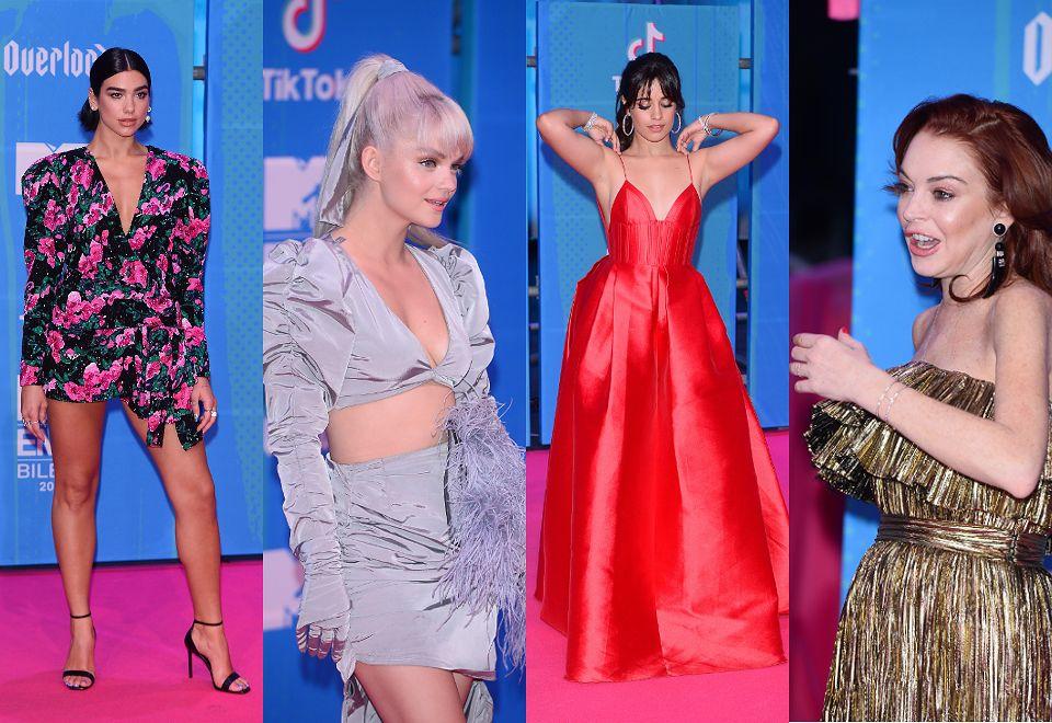 2MTV EMA 2018: Zmarnowana Lindsay Lohan, ekscentryczna Margaret, Dua Lipa w stylu lat 80-tych....