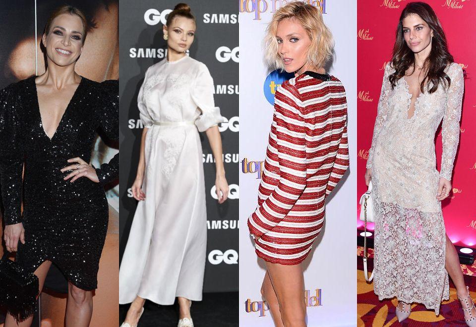 2Najciekawsze stylizacje tygodnia: Rubik z dekoltem do pępka, elegancka Rosati, gotycka Gaga