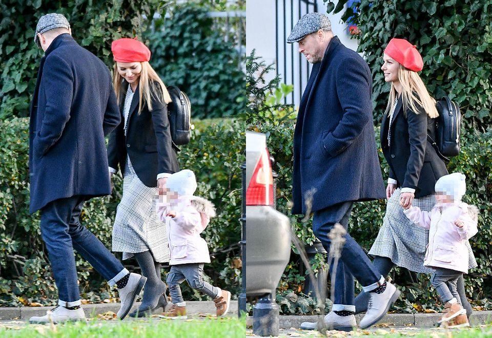 2Paulina Sykut-Jeżyna na spacerze z rodziną
