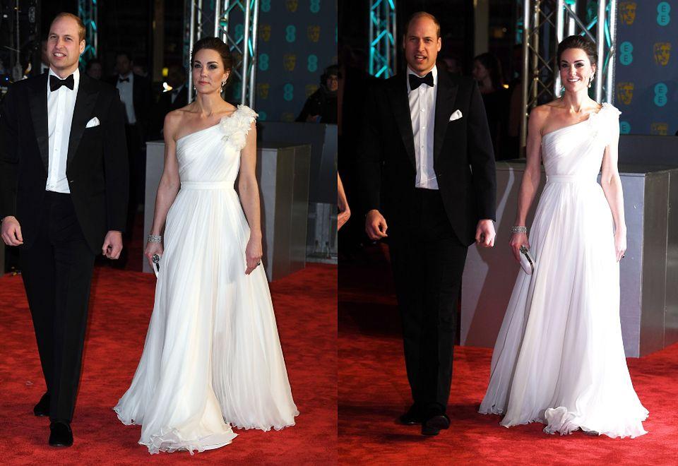 2Księżna Kate i książę William na gali BAFTA
