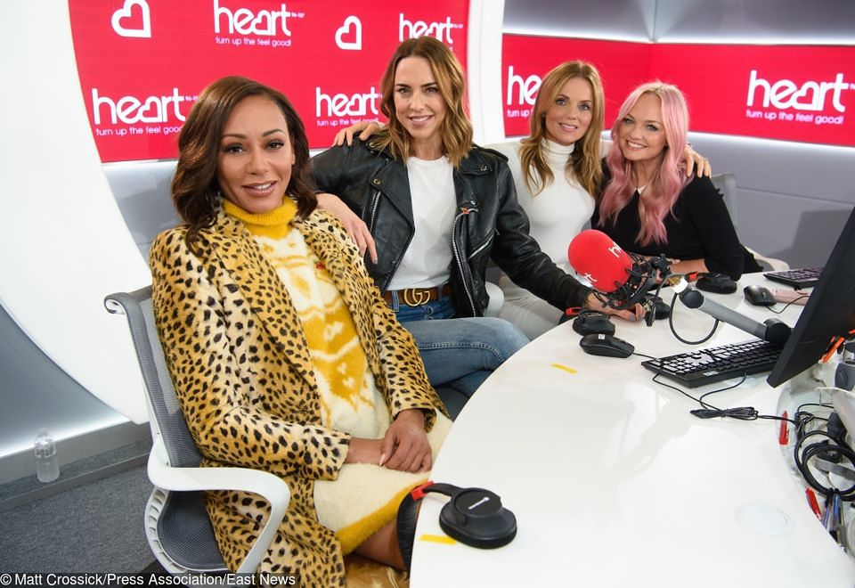 2Spice Girls promują trasę koncertową w radiu