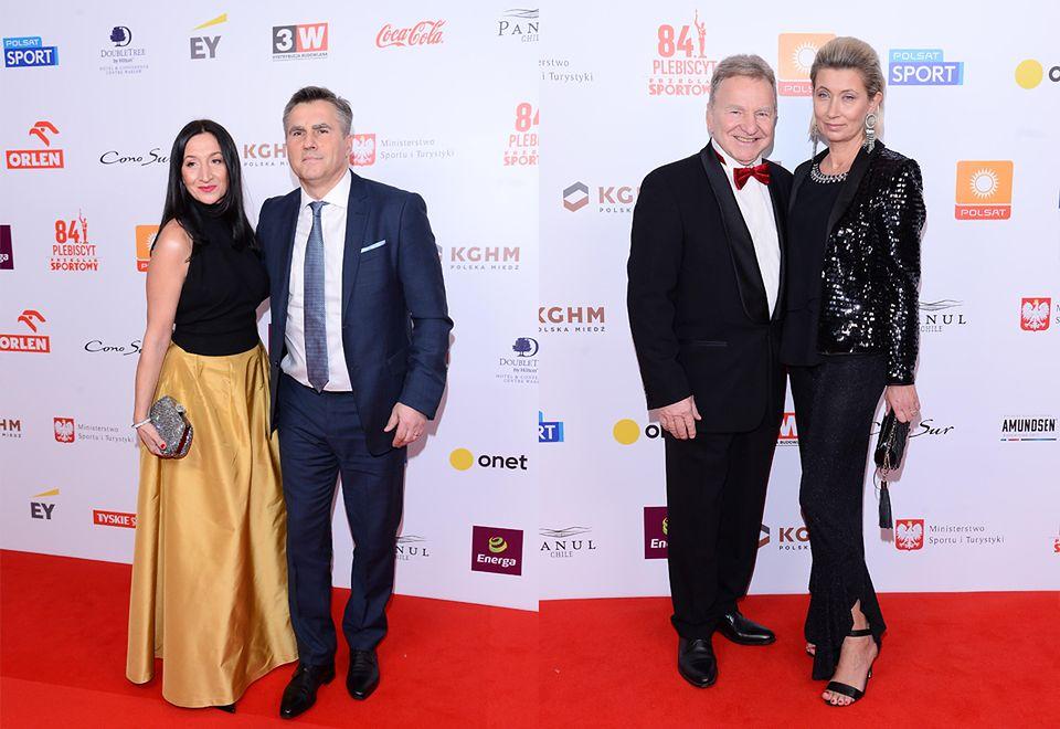 2Dariusz Dziekanowski i Andrzej Supron z żonami