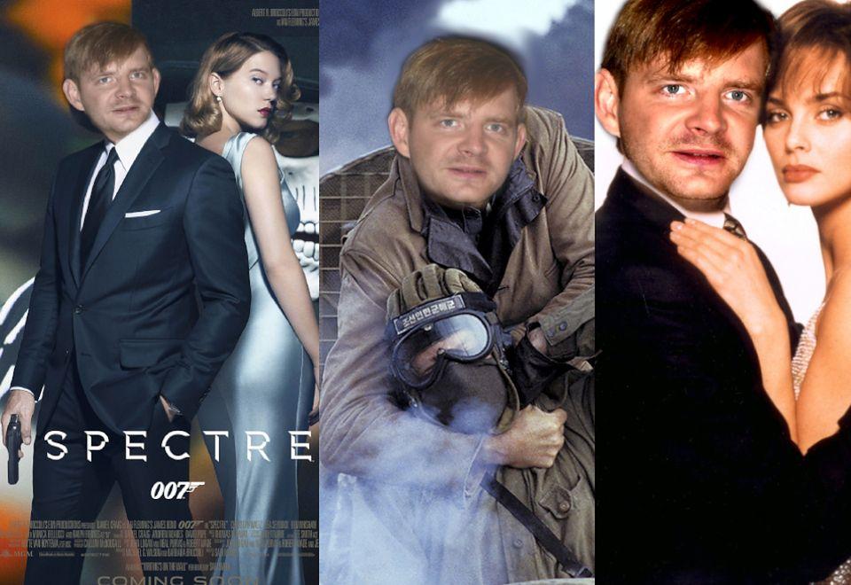 2Rafał Zawierucha aka James Bond